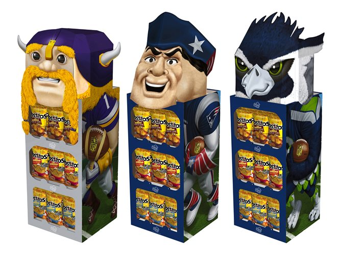 Frito-Lay NFL Floorstands